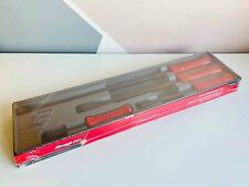 *NEW* Snap On 4-pc Red Striking Prybar Set SPBS704AR