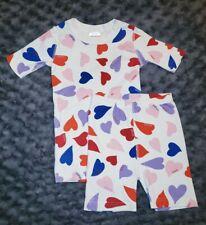 VGUC Hanna Andersson Girl Clothes 130 Size 8 Organic Cotton 2 Piece Pajama Set