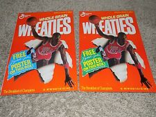 Wheaties Flattened box lot of 17 plus calendar 2 Michael Jordan Posters and More