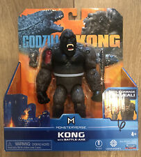"PLAYMATES MONTERVERSE GODZILLA VS KONG BATTLE-AXE 6"" ACTION FIGURE"