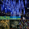 LED Meteor Shower Falling Rain Lights 30/50CM Waterproof Christmas Party Outdoor