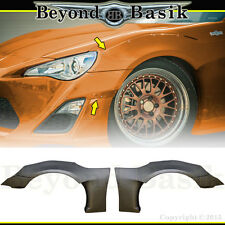 2013-2017 Scion FRS FR-S 86 GT FT 4 Pc FRONT Fender Flares PP Body Kit