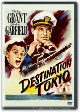 Destination Tokyo DVD New Cary Grant John Garfield Alan Hale John Ridgely