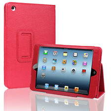 Red PU Leather Case Cover Stand For Apple iPad Mini 7.9'' Tablet
