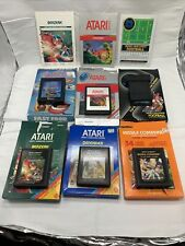 Atari 2600 6 Game In Boxes Lot! Some Complete In Box