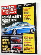 AMS 26-91+AUDI V8+MERCEDES 400 SE+BMW 325 td & E1+CITROEN XM+MAZDA 626 & MX-6