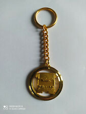 Superbe Porte-clés doré Camion Poid Lourd SCANIA Truck keychain vintage