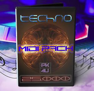 Midi Techno Collection - Over 25.000 Midi Files (FL Studio, Ableton, Bitwig)