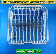 Ariston Dishwasher Spare Parts Lower Rack Basket Replacement (White) (S199) Used