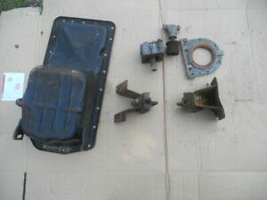 Triumph Stag Sump engine mounts + parts Us import  Rust free