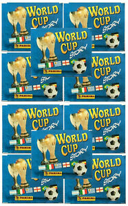 10 x Panini World Cup Story Sonrics Sticker Packets (s3)