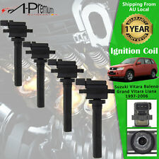4x Ignition Coil for Suzuki Vitara 1997-1998 Grand Vitara 1999-2006 2.0 2.5 2.7L