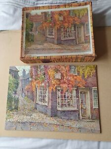 VICTORY JIGSAW THE CORNER SHOP RYE WOODEN PUZZLE 200 Pieces P5 Popular Series