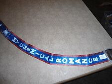MY CHEMICAL ROMANCE Guitar Strap Na NEW Danger Gerard Way Alien red white & blue
