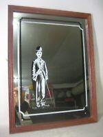 Vintage Charlie Chaplin mirror