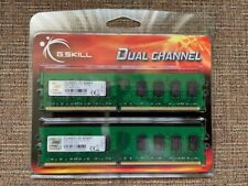 Brand New G.SKILL 4GB kit (2x2GB) 240-Pin DDR2-800 PC2-6400 F2-6400CL5D-4GBNT