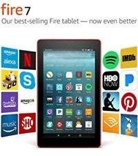 Nuevo Negro Amazon Kindle ALL Fire 7 Tablet E-Book Reader 16GB con Wi-Fi T6 ALEXA