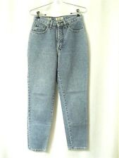 a8ec8b67f3568 EXPRESS High Waist Jeans Sz 7 8 Tapered Leg Medium Wash EXP Juniors Womens