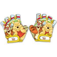Paio Guanti da Bici Disney Winnie The Pooh e Tigro Accessori Bici Bambini Giallo