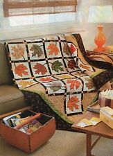 Falling Leaves Quilt Pattern Pieced/Applique KD