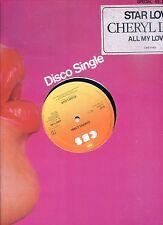 CHERYL LYNN star love HOLLAND 12INCH 45RPM 1979 EX
