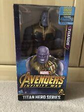 Marvel Infinity War Titan Hero Series Thanos wth Titan Hero Power FX Port Figure