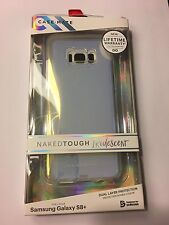 CaseMate Naked Tough 2 Layer Case for Samsung Galaxy S8 Plus, Iridescent