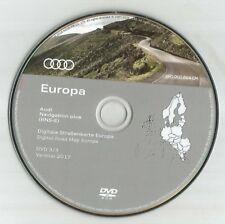 PAS DE UK!!! --- Audi Stam-E navigation Disc DVD 3/3 Sat Nav Map 2017 SWE ni Nageoire