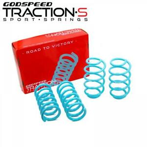 for Lincoln MKZ 13-20 Lowering Springs Traction-S By Godspeed LS-TS-FD-0010-B