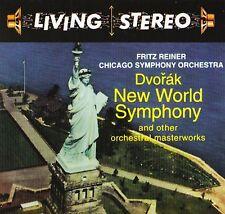 Dvorak New World Symphony - Fritz Reiner & Chicago Symphony Orchestra (CD, New)