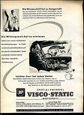 BP -- VISCO STATIC -- Motoroel-Pubblicità di 1955 -