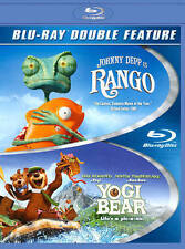 Rango/Yogi Bear (Blu-ray Disc, 2014, 2-Disc Set) NEW