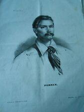 Litho 1835 - Portrait de M. Pornin Bernard né à Limoges engagé volontaire