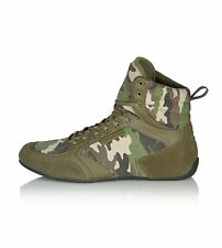 Iron Tanks Titan II Gym Shoes Raw Camo | Lifting Bodybuilding Squats Deadlifts