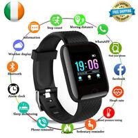 Reloj Inteligente Ritmo Cardíaco Pedómetro Fitness Para IPHONE Huawei Android