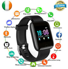 Smart Watch Heart Rate Pedometer Fitness For iPhone Huawei Android