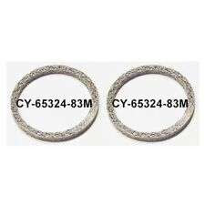 Exhaust Flat Steel Mesh Style Crush Gaskets Seals Pair Harley Twin Cam 65324-83