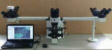 Olympus Microscope BX50 Teaching Multihead with Apos