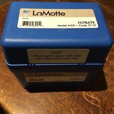 LaMotte Nitrate Water Testing Kit NCR 3110 Nitrogen Test Chemical NEW