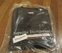 Supreme Inc. Tee T-Shirt Size Large Black FW19 FW19T46 Brand New 2019
