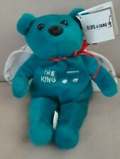 ELVIS-A-RAMA Museum Bear Elvis Presley  Collectible THE KING  Bean Bag