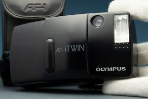 Olympus AF-1 Twin weatherproof 35/70mm film camera 1990s Point & Shoot Lomo Case