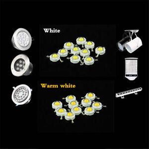 10 20 40 pcs LED COB Lamp Chip 1W 3W 3.2-3.6V 100-220LM Mini Bulb Diode SMD DIY