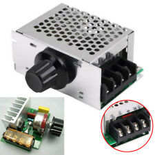 4000w 220v Ac Scr Motor Speed Controller Module Voltage Regulator Dimmer Usa