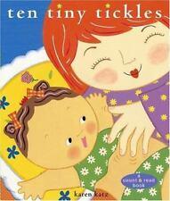 Ten Tiny Tickles by Karen Katz - NEW hardcover book