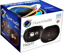 Planet Audio TRQ693 6x9 3-Way Torque Series Full Range Coaxial Car Speakers 500W
