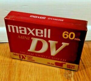 Maxell Mini DV Digital Video Cassette 60 min NEW Set of 1