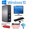 "DELL DESKTOP TOWER PC INTEL QUAD CORE CPU 1TB HD 8GB RAM WI-FI WINDOWS 10 17""TFT"
