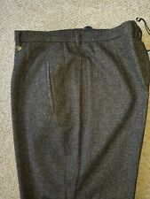 Bruno Saint Hilaire Wool Flannel Alba Trousers. Size 18. RRP £139