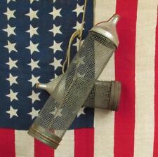 Vintage Fishing Kleer Vue Cricket Box Pair Bait Tins Southern Mfg Co. Antique